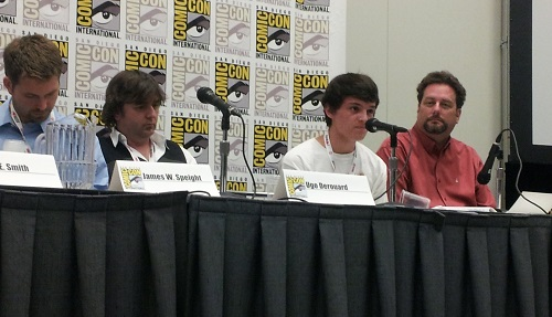 The Live Forever Ray Bradbury panel at SDCC 2013