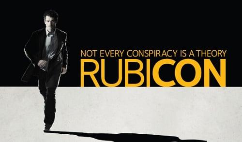 Promo poster for Rubicon