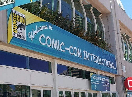 SDCC 2013 welcome banner