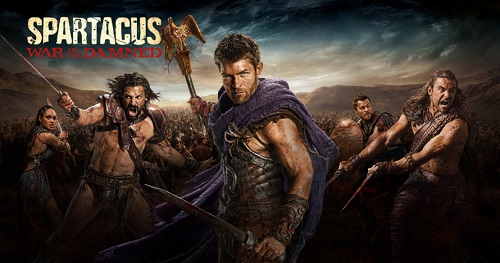Spartacus War of the Damned promo poster