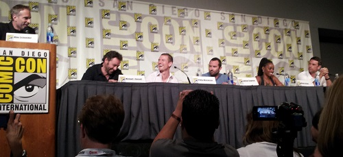 Strike Back panel at SDCC 2013