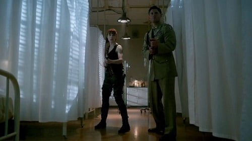 Felicia Day and Jensen Ackles in Supernatural, Pac-Man Fever
