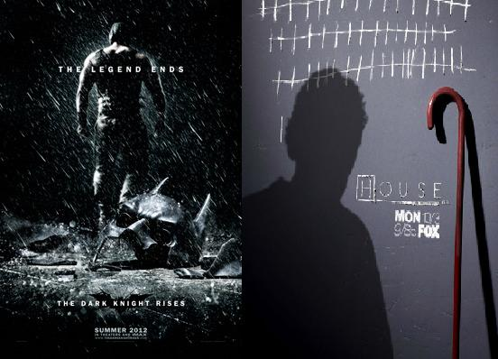 The Dark Knight Rises/House M.D Posters