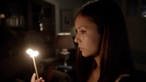 Nina Dobrev as Elena Gilbert in The Vampire Diaries, Stand by Me