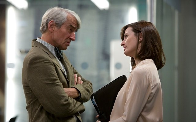 Sam Waterston, Emily Mortimer