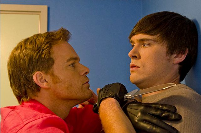 Michael C. Hall & Sam Underwood in 'Dexter' Ep 8.08 'Are We There Yet?'