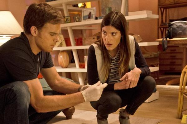 Michael C. Hall & Jennifer Carpenter in 'Dexter' Ep 8.08 'Are We There Yet?'