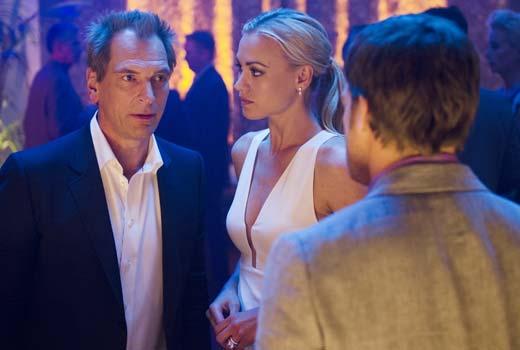Julian Sands, Yvonne Strahovsky & Michael C. Hall in Dexter Ep 8.07 'Dress Code'