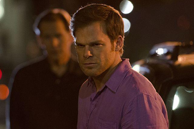 James Remar & Michael C. Hall in Dexter Ep 8.07 'Dress Code'