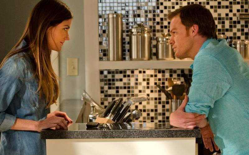 Jennifer Carpenter & Michael C. Hall in Dexter Ep 8.07 'Dress Code'