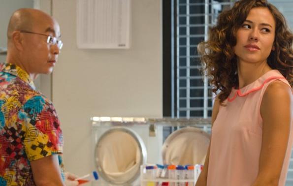 C.S. Lee & Dora Madison Burge in Dexter Ep 8.07 'Dress Code'