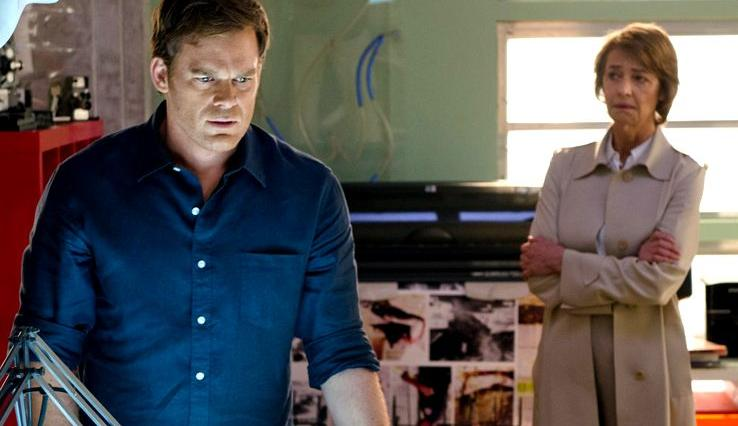 Michael C. Hall & Charlotte Rampling in Dexter Ep 8.09 'Make Your Own Kind of Music'