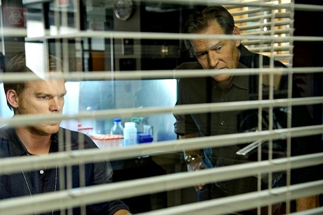 Michael C. Hall & James Remar in Dexter Ep 8.09 'Make Your Own Kind of Music'