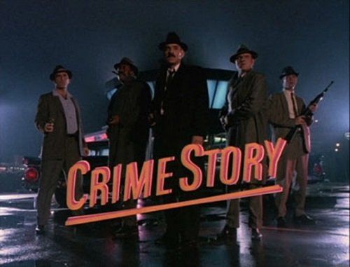Crime Story title card
