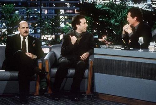 Jerry Seinfeld on the Larry Sanders Show finale, Flip