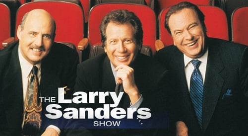 Promo pic for The Larry Sanders Show