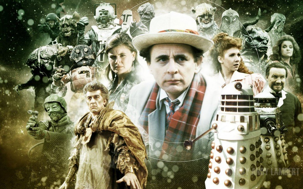 No. 55 - The Seventh Doctor Years