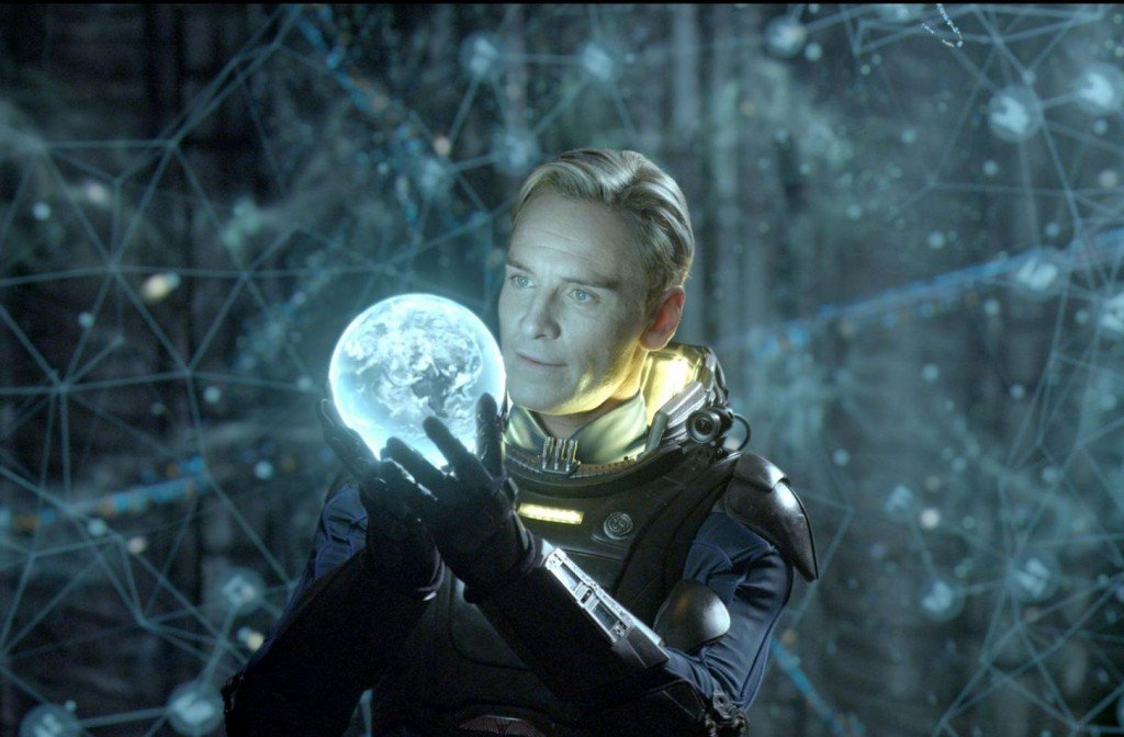 Michael Fassbender in Prometheus (2012)