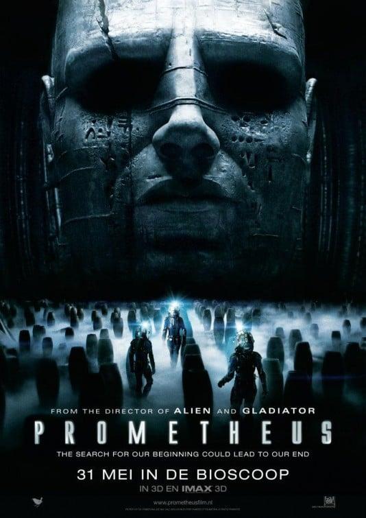Resultado de imagen de Prometheus poster
