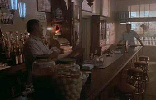 "Bruce McGill as Al and Scott Bakula as Sam in the Quantum Leap finale, ""Mirror Image"""