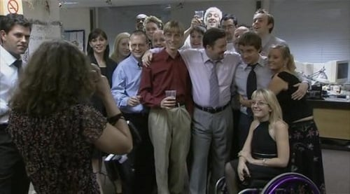 The Office UK Christmas Special final moment