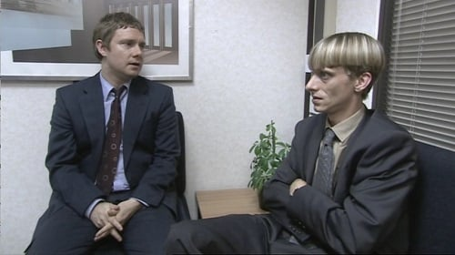 Martin Freeman and Mackenzie Crook in the Office UK Christmas Special finale