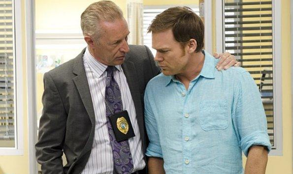 Geoff Pierson & Michael C. Hall in Dexter Ep 8.12 'Remember the Monsters?'