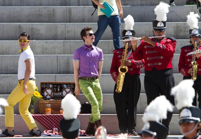 Glee S05E01 promo pic, Love Love Love