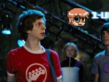 Michael Cera, Allison Pill & Mark Webber in Scott Pilgrim vs. The World (2010)