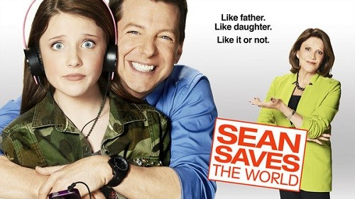 Sean Saves the World promo poster