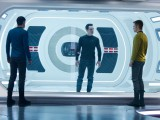 Zachary Quinto, Bennedict Cumberbatch & Chris Pine in Star Trek Into Darkness (2013)