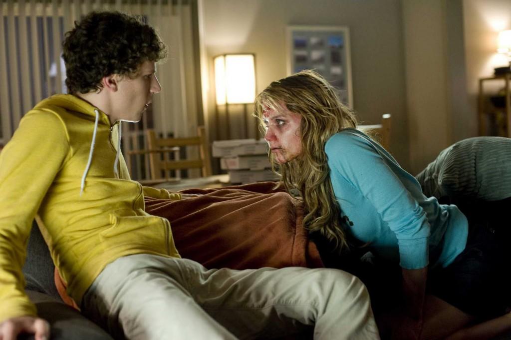 Jesse Eisenberg & Amber Heard in Zombieland (2009)