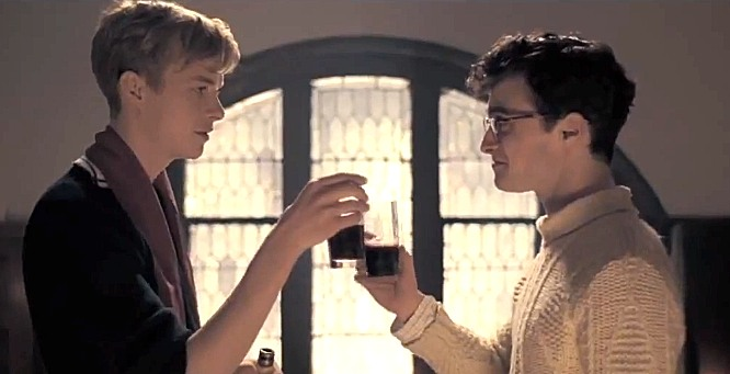 kill your darlings trailer dan radcliffe1 Kill Your Darlings Clip and Photos Featuring Daniel Radcliffe and Dane DeHaan