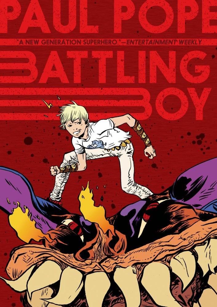Paul Pope's Battling Boy