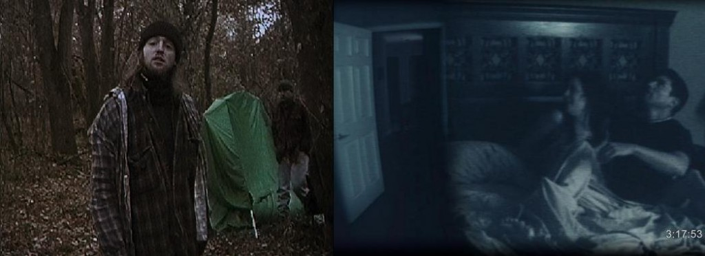 Character depth and plot consistency separated the otherwise similar Blair Witch Project and Paranormal Activity