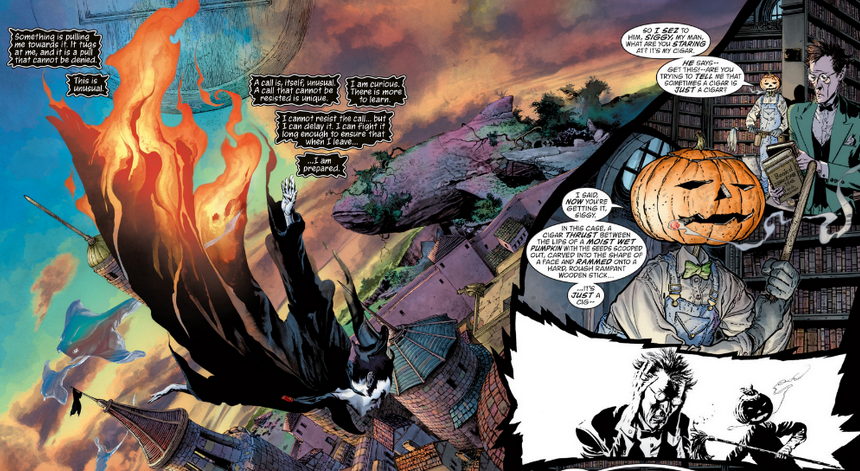 The Sandman Overture 1- The Dreaming by J.H. Williams III
