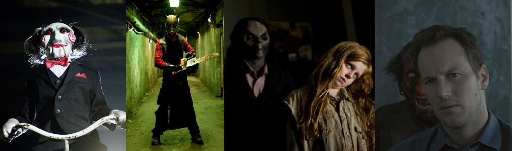 Horror Article Banner (Saw, Hostel, Sinister & Insidious)