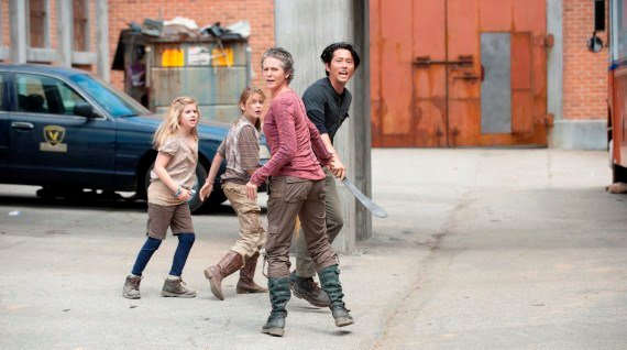 The Walking Dead s.4 Infected