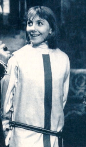 First Doctor Companion Vicki, played by Maureen O'Brien