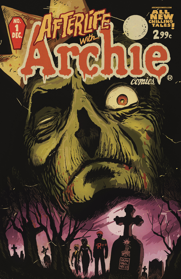 Afterlife With Archie #1 by Francesco Francavilla