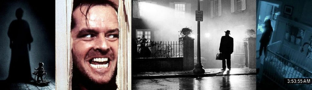 Horror Article Banner (Insidious 2, The Shining, The Exorcist, Paranormal Activity 3)