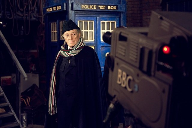 David Bradley as William Hartnell in An Adventure in Space and Time