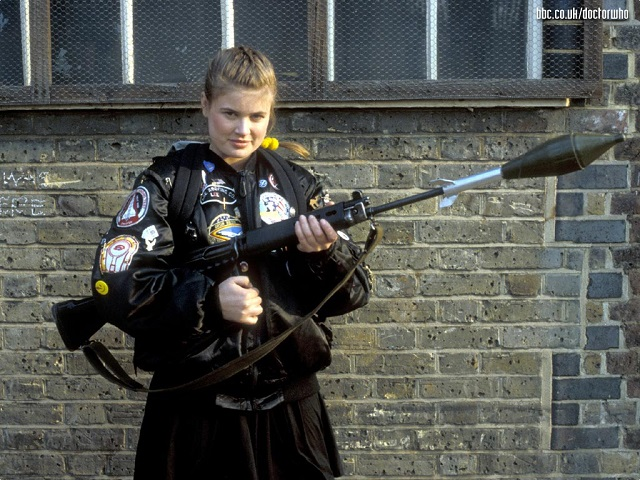Sophie Aldred as Doctor Who Companion Ace