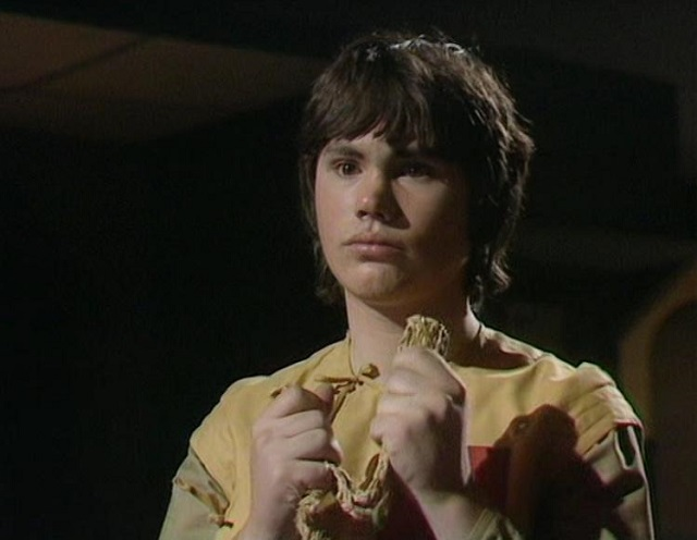 Matthew Waterhouse as Doctor Who Comapnion Adric
