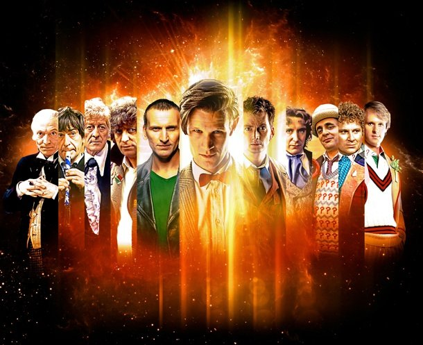 Doctor Who, all 11 doctors