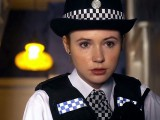 Karen Gillan as Doctor Who Companion Amy Pond