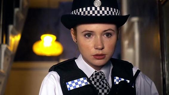 Karen Gillan as Doctor Who Companion Amy Pond