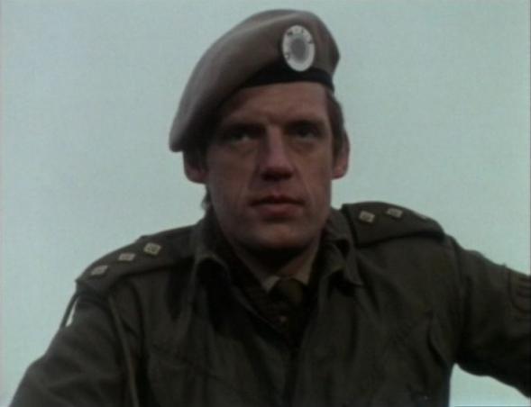 Richard Franklin as Third Doctor Companion Mike Yates