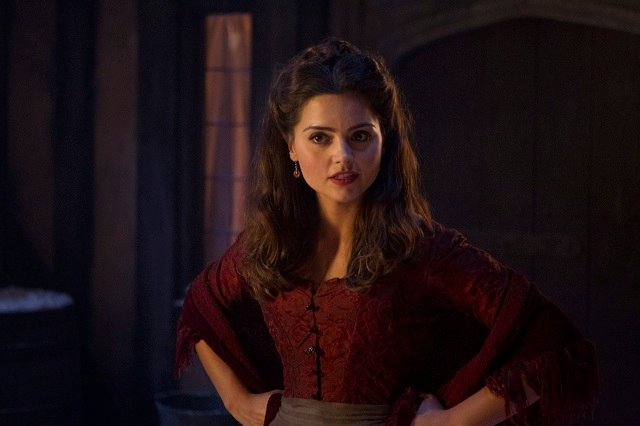 Jenna Coleman as Doctor Who Companion Clara Oswin Oswald