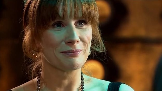 Catherine Tate as Doctor Who Companion Donna Noble